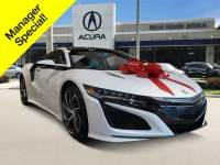 Certified Used 2017 Acura NSX Base (DCT) for sale. West Palm Beach FL, #ACP00871