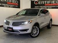 2018 Lincoln MKX RESERVE PANORAMIC ROOF NAVIGATION BLIND SPOT ASSIST REAR CAMERA