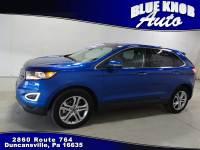 2018 Ford Edge Titanium ECOBOOST SUV in Duncansville | Serving Altoona, Ebensburg, Huntingdon, and Hollidaysburg PA