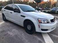2012 Chevrolet Caprice Detective Sedan V-8 cyl