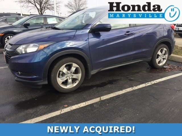 Photo Certified 2016 Honda HR-V EX-L SUV