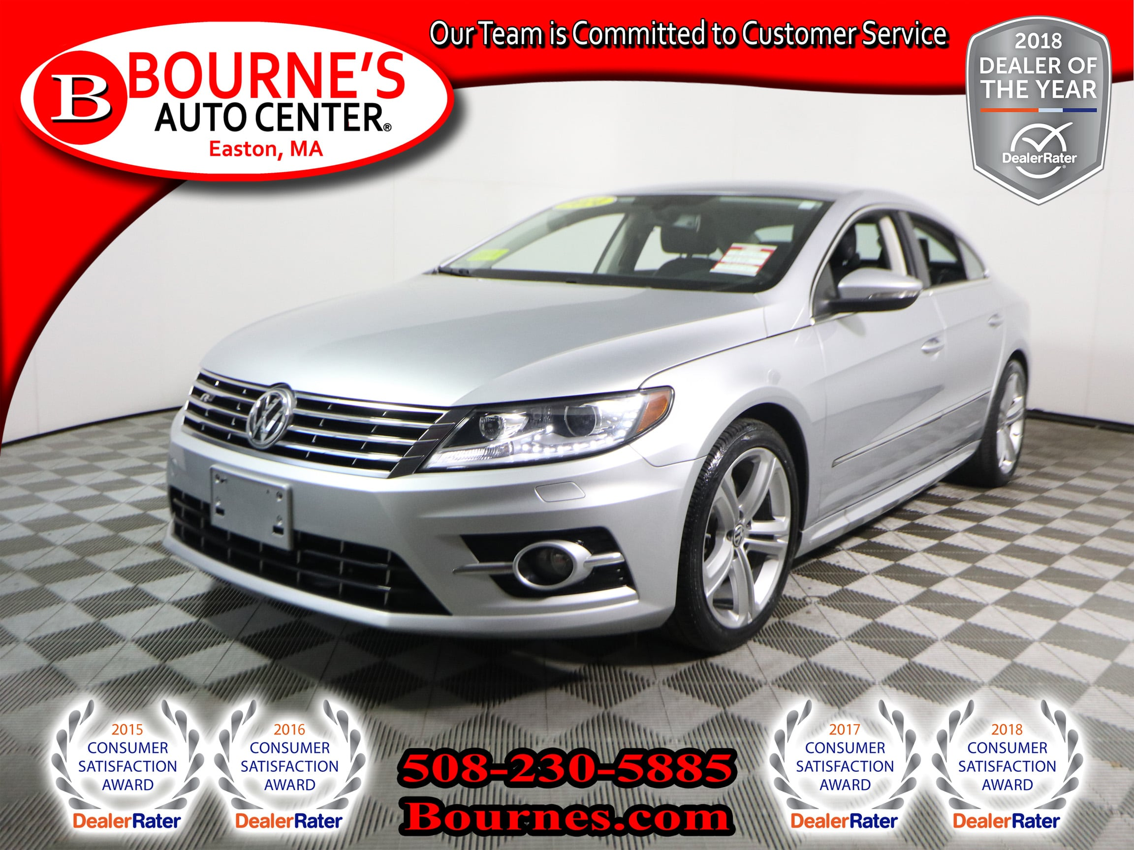 Photo 2014 Volkswagen CC 2.0T Sport w Navigation,Leather, And Heated Front Seats.