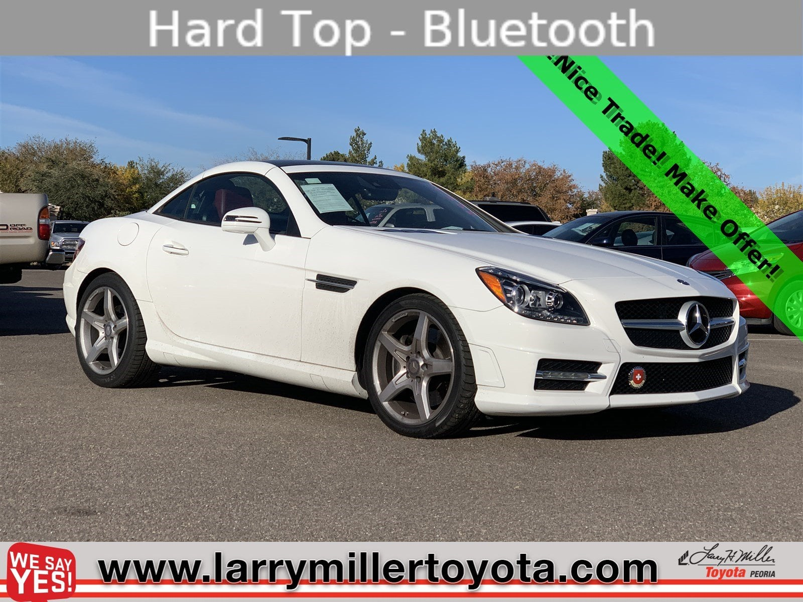 Photo Used 2016 Mercedes-Benz SLK For Sale  Peoria AZ  Call 602-910-4763 on Stock 90549A