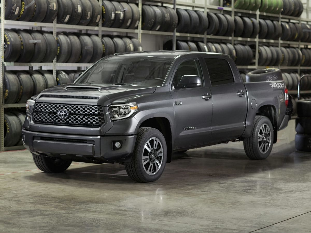 Photo Used 2018 Toyota Tundra SR5 Truck RWD For Sale in Houston