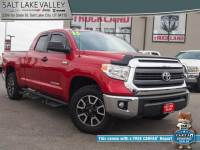Used 2015 Toyota Tundra 4WD Truck Double Cab 5.7L FFV V8 6-Spd AT TRD Pro Truck For Sale in Salt Lake City, UT