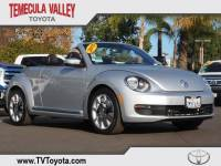 2015 Volkswagen Beetle Convertible 1.8T w/PZEV Convertible Front-wheel Drive in Temecula