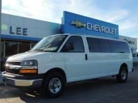 Pre-Owned 2018 Chevrolet Express Passenger 3500 Extended Wheelbase Rear-Wheel Drive 1LT VIN 1GAZGPFG8J1227392 Stock Number 7569P