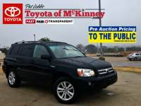 2007 Toyota Highlander Hybrid Limited w/3rd Row
