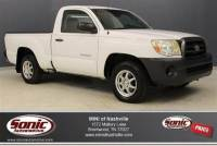 Pre-Owned 2008 Toyota Tacoma 2WD Regular Cab Standard Bed I4 Manual (Natl)