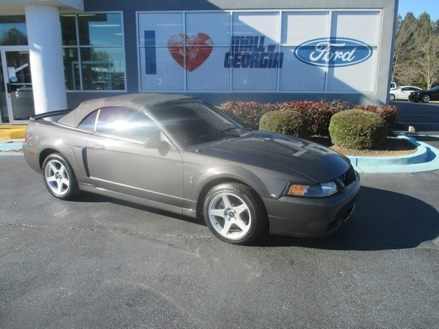 Photo 2003 Ford Mustang Cobra Convertible V8 DOHC 32V Supercharged For Sale in Atlanta