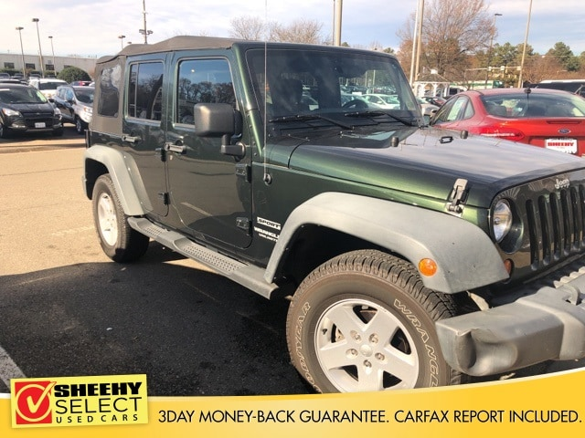 Photo Used 2011 Jeep Wrangler Unlimited Unlimited Sport SUV V-6 cyl for sale in Richmond, VA