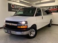 2017 Chevrolet Express Passenger LT 3500 EXTENDED 15 PASSENGER VAN FLEX FUEL REAR AIR CONDITIONIN