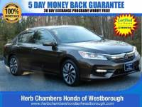 Certified Pre-Owned 2017 Honda Accord Hybrid EX-L Sedan near Westborough, MA
