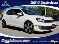 Pre-Owned 2012 Volkswagen GTI 2-Door w/PZEV (M6) Hatchback in Jacksonville FL