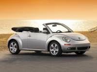 Pre-Owned 2007 Volkswagen New Beetle Convertible Triple White