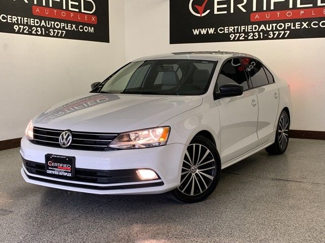 Photo 2016 Volkswagen Jetta Sedan TSI HEATED LEATHER SEATS REAR CAMERA BLUETOOTH KEYLESS ENTRY PUSH BUTTON ST