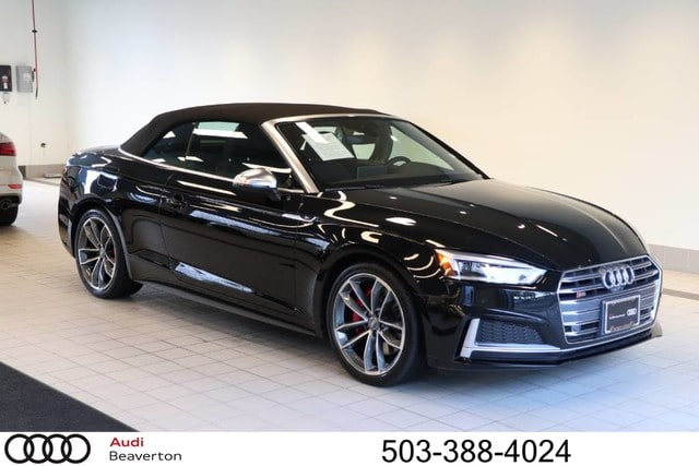 Photo Certified Pre-Owned 2018 Audi S5 3.0T Prestige Cabriolet for Sale in Beaverton,OR