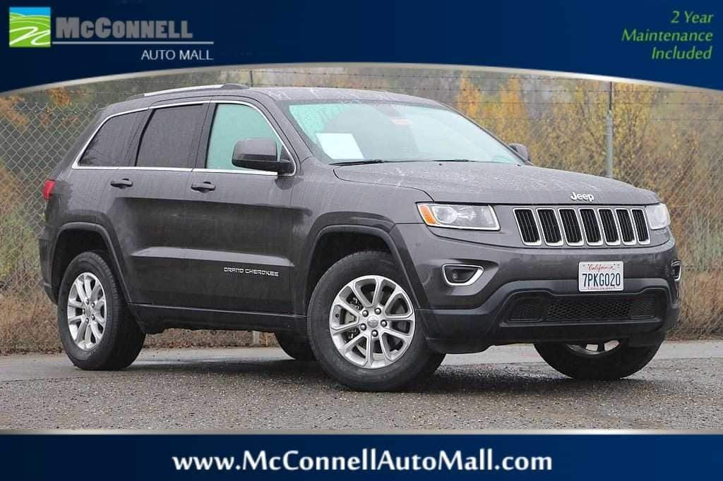 Photo 2015 Jeep Grand Cherokee Laredo 4x4 SUV - Certified Used Car Dealer Serving Santa Rosa  Windsor CA