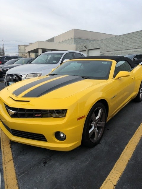 Photo Used 2012 Chevrolet Camaro SS Convertible for Sale near Atlanta, GA
