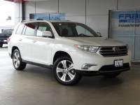 2013 Toyota Highlander Limited FWD V6 Limited