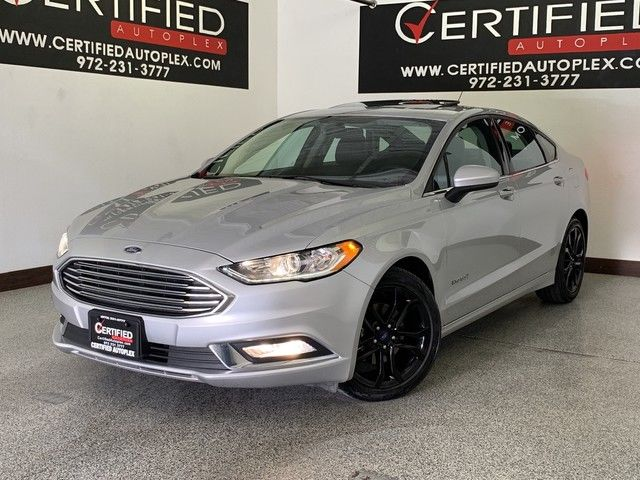 Photo 2018 Ford Fusion Hybrid SE SUNROOF REAR CAMERA BLUETOOTH KEYLESS ENTRY PUSH BUTTON START