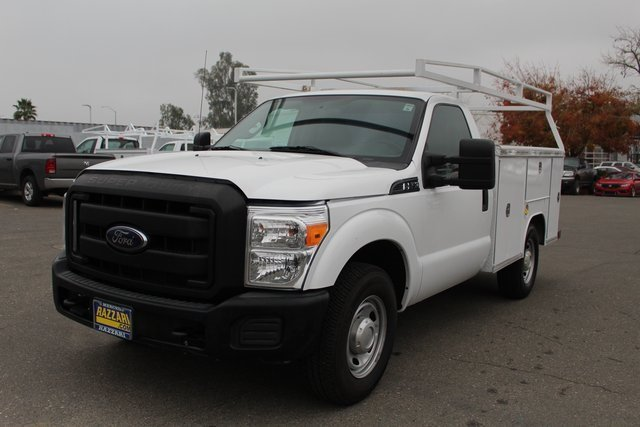 Photo Used 2015 Ford F-250 Truck Regular Cab in MERCED, CA