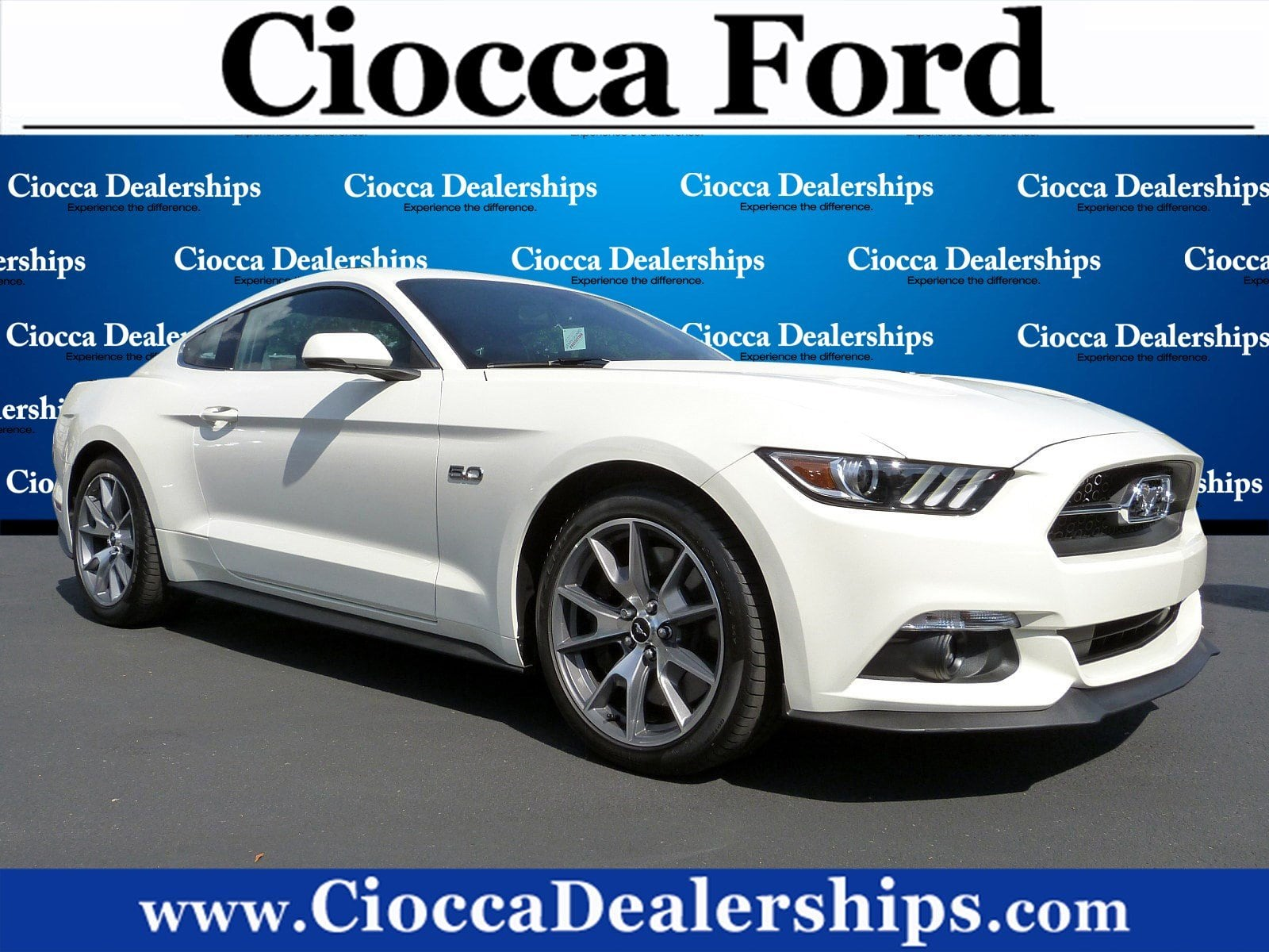 Photo Used 2015 Ford Mustang GT 50 Years Limited Edition For Sale in Allentown, PA