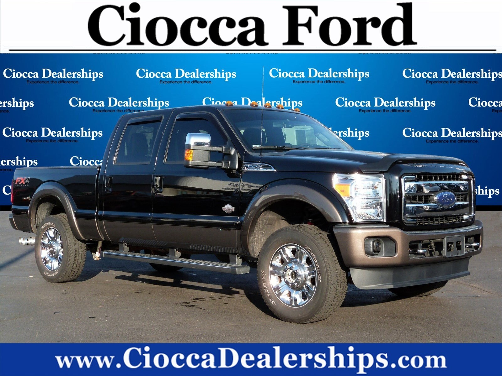 Photo Used 2016 Ford Super Duty F-250 SRW King Ranch For Sale in Allentown, PA