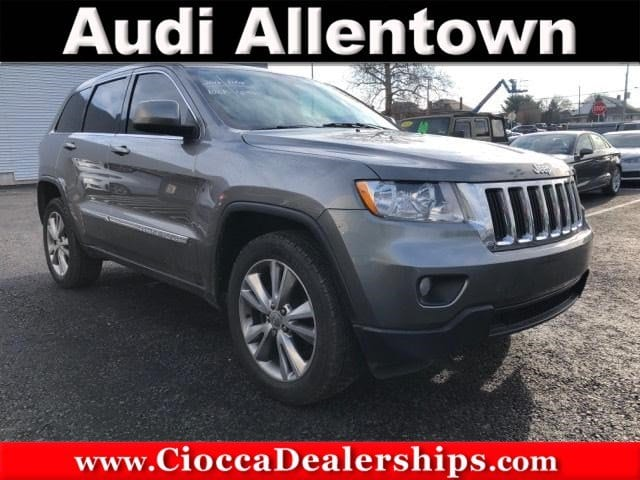 Photo Used 2012 Jeep Grand Cherokee Laredo 4x4 For Sale in Allentown, PA