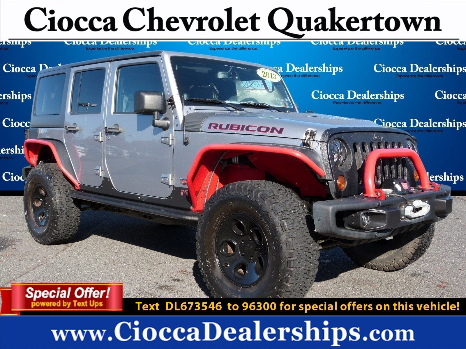 Photo Used 2013 Jeep Wrangler Unlimited Rubicon 10th Anniversary For Sale in Allentown, PA
