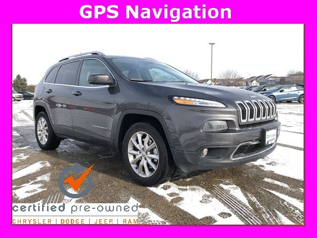 Photo 2016 Jeep Cherokee Limited 4x4 SUV For Sale in Madison, WI