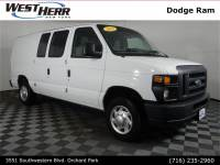 2013 Ford E-150 Commercial Van Cargo Van