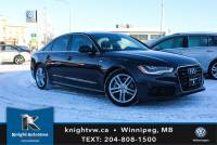 Pre-Owned 2012 Audi A6 3.0T Quattro w/Technick/LED/Night Vision/S-line/Winter Tires And Rims AWD 4dr Car
