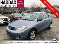 Used 2006 Toyota Matrix in Pittsfield MA
