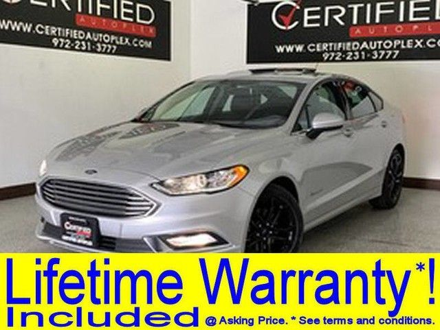 Photo 2018 Ford Fusion Hybrid SE SUNROOF REAR CAMERA BLUETOOTH KEYLESS ENTRY PUSH BUTTON START START POWE