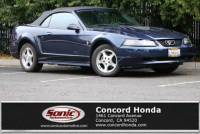 Pre-Owned 2002 Ford Mustang 2dr Convertible Deluxe