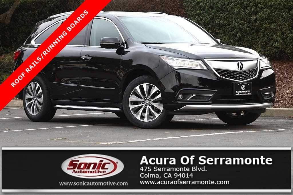 Photo Used 2016 Acura MDX MDX with Technology Package For Sale in Colma CA  Stock BGB010532  San Francisco Bay Area