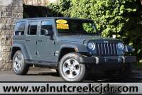 Certified Used 2017 Jeep Wrangler Unlimited Sahara Sport Utility 4D SUV in Walnut Creek