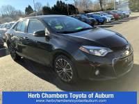 Used 2014 Toyota Corolla S Sedan Front-wheel Drive in Auburn, MA