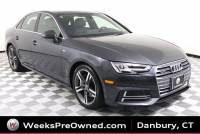 Used 2018 Audi A4 2.0T Premium Plus Sport & 6-spd Manual Sedan in Danbury, CT
