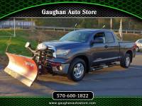 2013 Toyota Tundra 4WD Truck DOUBLE CAB 5.7 LITER 4X4 BOSS PLOW