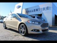 2016 Ford Fusion Titanium Sedan Front-wheel Drive