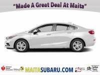 Used 2017 Chevrolet Cruze LT Available in Sacramento CA