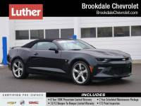 Certified Pre-Owned 2017 Chevrolet Camaro 2dr Conv 1SS