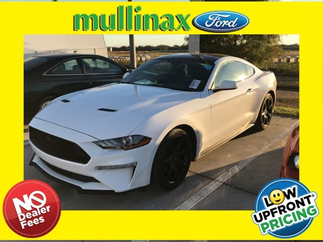 Photo Used 2018 Ford Mustang Ecoboost W Black Accent Package Coupe I-4 cyl in Kissimmee, FL