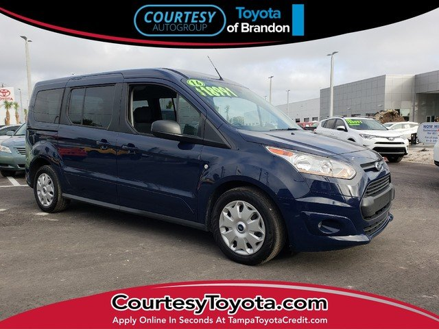 Photo Pre-Owned 2016 Ford Transit Connect XLT wRear Liftgate Wagon Wagon LWB near Tampa FL