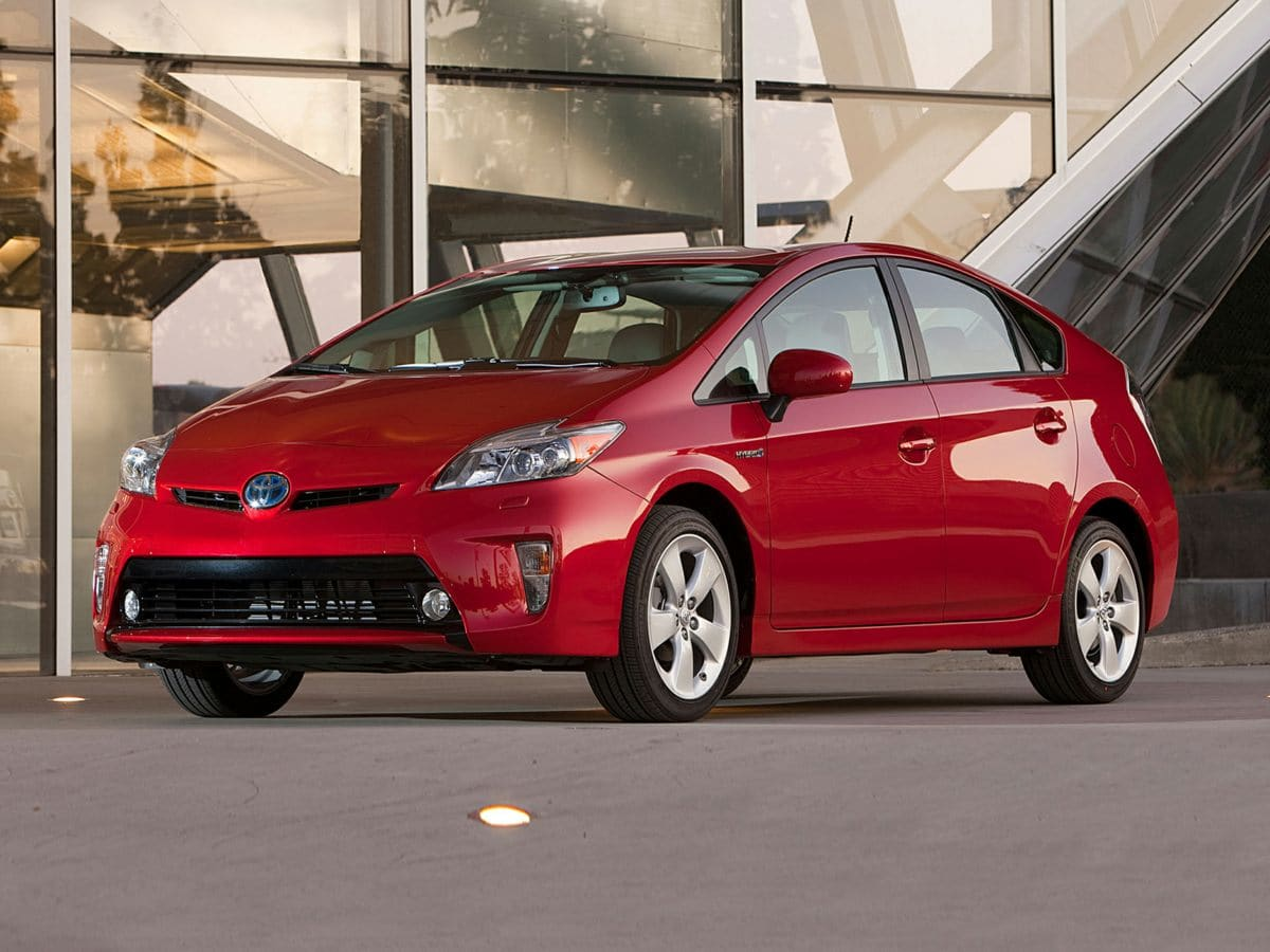 Photo Used 2012 Toyota Prius Three Hatchback FWD For Sale in Houston