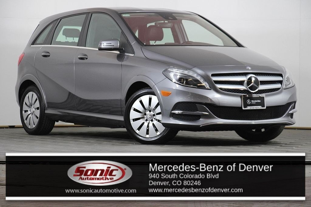 Photo Pre-Owned 2014 Mercedes-Benz B-Class Electric Drive Hatchback in Denver