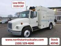 Used 2001 Freightliner FL70 CAT Service Utility Truck