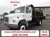 Used 2003 Freightliner FL70 4x4 CAT Dump Truck